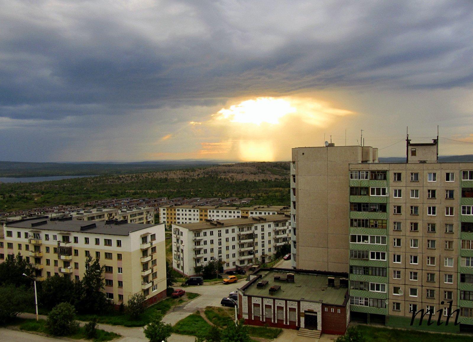 фото город никель