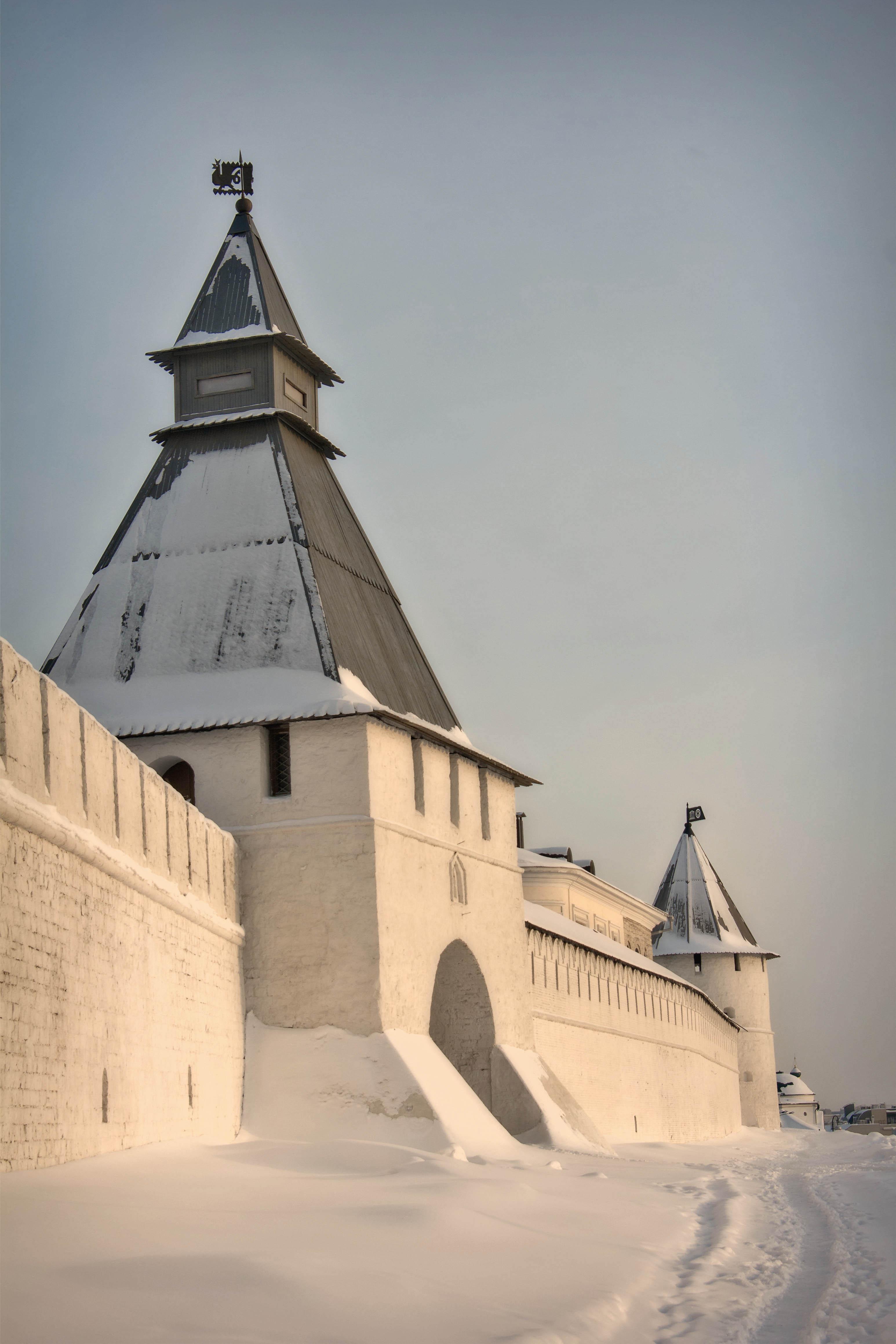 преображенская башня казанского кремля, Казань