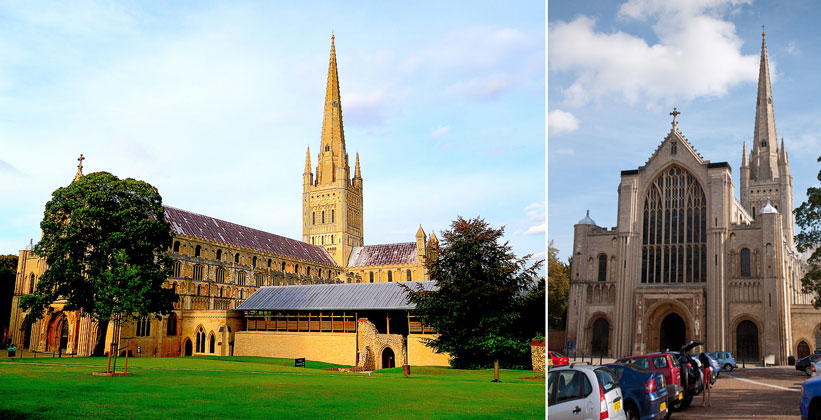 norwich cathedral, Норвич
